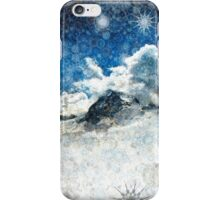 Snow Ridge Mountains iPhone Case/Skin