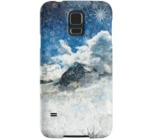 Snow Ridge Mountains Samsung Galaxy Case/Skin