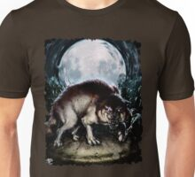 Forsaken Art: Big Wolf Unisex T-Shirt