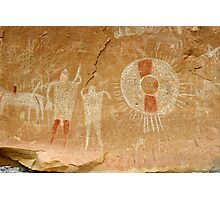 Ute Indian Pictographs Photographic Print