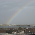 Rainbow over Bridge by Jacker