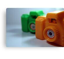 Toy Cameras Canvas Print