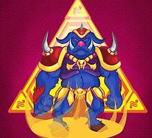 Ganon: Triforce of Power by MoyArt