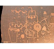 Anasazi Rock Art Photographic Print