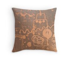 Anasazi Rock Art Throw Pillow