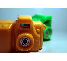 Toy Cameras Side Photographic Print