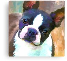 Painted Kate Canvas Print