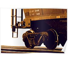 Trains - Freight Car Poster