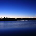 Sunrise on Johnstone River on 23rd May 2009 by Ron  Wilson