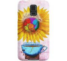 What my #Coffee says to me - May 2 HOPE2015 Samsung Galaxy Case/Skin