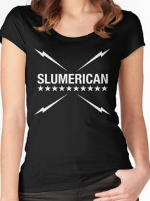 Slumerican Women's Fitted Scoop T-Shirt