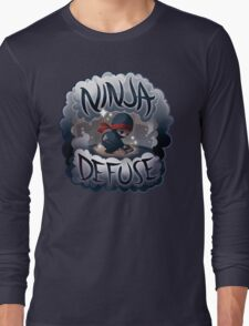 SPARKLES Ninja Defuse (OFFICIAL) Long Sleeve T-Shirt