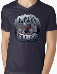 SPARKLES Ninja Defuse (OFFICIAL) Mens V-Neck T-Shirt