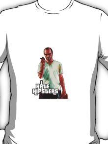 Trevor GTA 5 I Hate Hipsters T-Shirt