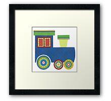 Kids Train Engine Framed Print