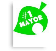 #1 Mayor - Animal Crossing Canvas Print