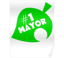 #1 Mayor - Animal Crossing Poster