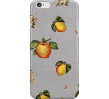 fruit and blossoms iPhone Case/Skin