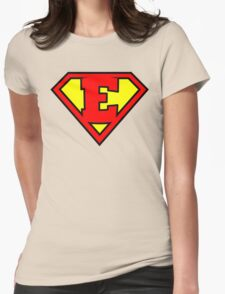Super E Womens Fitted T-Shirt