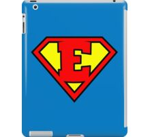 Super E iPad Case/Skin