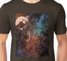 Forsaken Cover Art: Predators Unisex T-Shirt