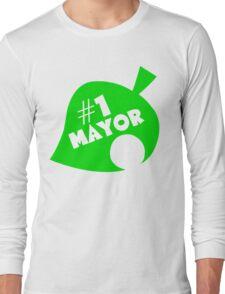 #1 Mayor - Animal Crossing Long Sleeve T-Shirt