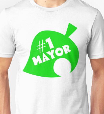 #1 Mayor - Animal Crossing Unisex T-Shirt