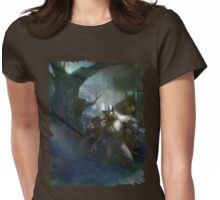 Forsaken Cover Art: Territories Womens Fitted T-Shirt