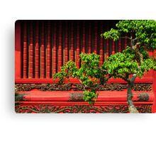 Temple of Literature, Hanoi Canvas Print
