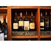 Vino Toscana Photographic Print