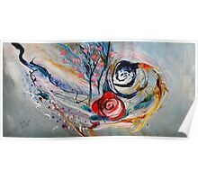 The Rose of Chagall Poster