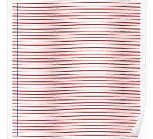 Lined Paper Poster