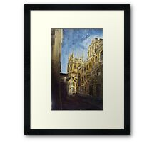 Oxford England Framed Print