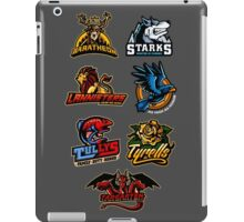 game of thrones-houses iPad Case/Skin