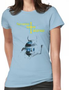 Fernando Alonso Asturia 2015 Womens Fitted T-Shirt