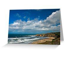Coastal Headlands San Gregorio Greeting Card