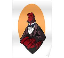 Hellboy Bust Poster