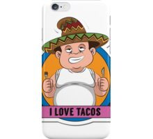 Love Tacos iPhone Case/Skin