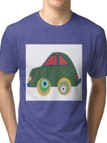 Kids Car Tri-blend T-Shirt