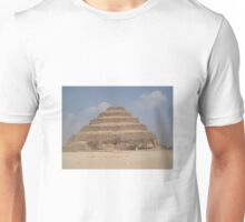Piramid of saqqara Unisex T-Shirt