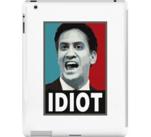 Miliband - Idiot iPad Case/Skin