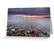 Sunrise St Anns Bay Nova Scotia Greeting Card