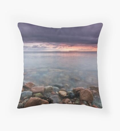 Sunrise St Anns Bay Nova Scotia Throw Pillow