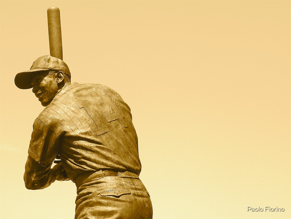 Ernie Banks by Paolo Fiorino