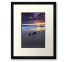 Sand Bar Framed Print