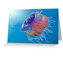 Crown Jellyfish Greeting Card