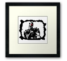 The Terminator  Framed Print