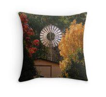 Autumn Mill Throw Pillow