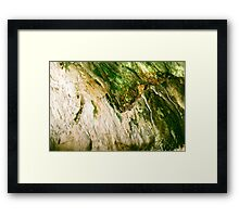 Cave Minerals at the Soda Dam in New Mexico Framed Print