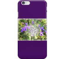 VIOLETS iPhone Case/Skin